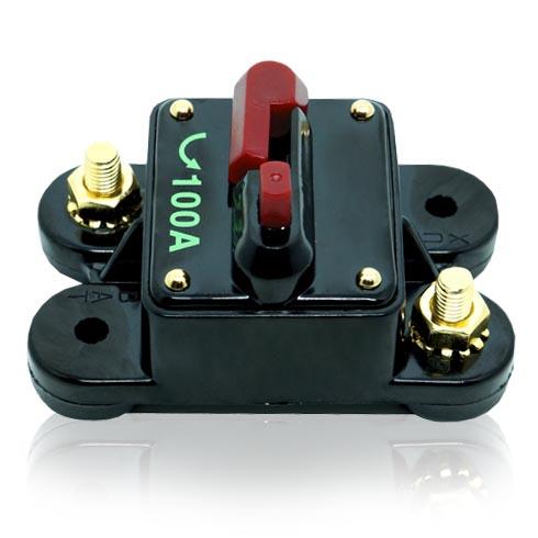 Disjuntor Automotivo 100A Proteção Som Resetável Liga Desliga  - BEST SALE SHOP