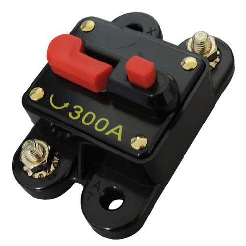 Disjuntor Automotivo 300A Tech One Proteção Som Resetável Liga Desliga