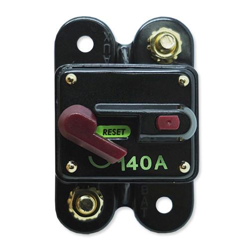 Disjuntor Automotivo 140A Tech One Proteção Som Resetável Liga Desliga  - BEST SALE SHOP
