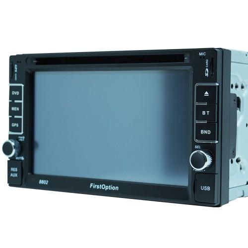Central Multimídia Dvd 2 Din 6.2 First Option 8802 TV SD Usb Bluetooth Tv Digital Gps  - BEST SALE SHOP