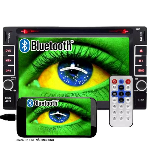 Dvd Automotivo 2 Din 6.2 First Option Multimídia MDI-8802M Usb Bluetooth Tv Digital Gps Espelhamento  - BEST SALE SHOP