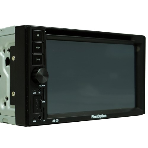 Dvd Automotivo 2 Din 6.2 First Option Multimídia MDI-8805M SD Usb Bluetooth Gps Espelhamento  - BEST SALE SHOP