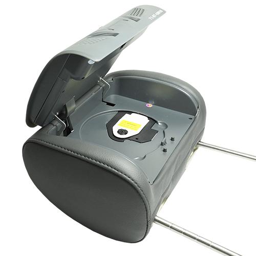 Encosto Cabeça Tela Monitor Leitor Dvd Tech One Standard Grafite  - BEST SALE SHOP