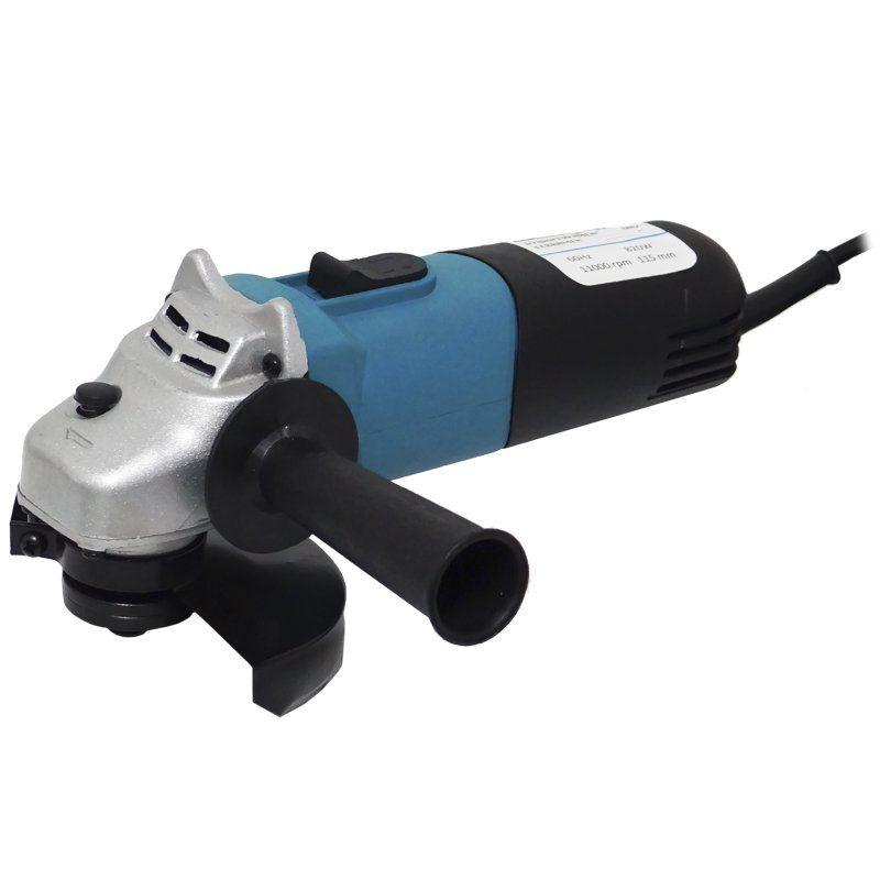 Esmerilhadeira Lixadeira Angular 4.1/2 820W 110V Rolamentada 11000 Rpm 115 mm Importway IWEA-110