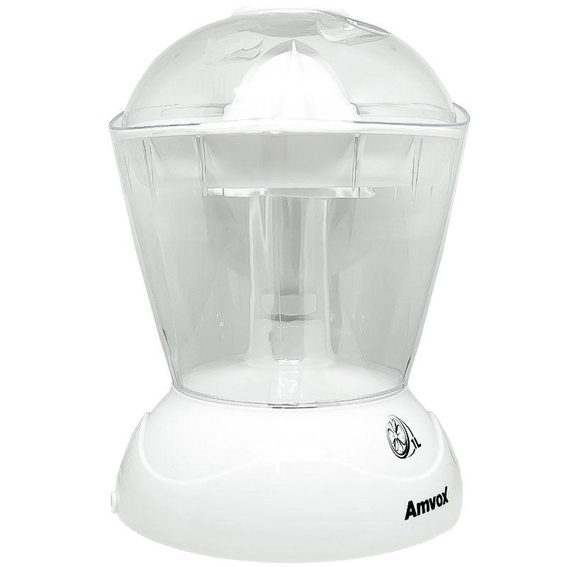 Espremedor de Frutas Elétrico Laranja Limão 30W 1 Litro Branco Amvox AES 3300