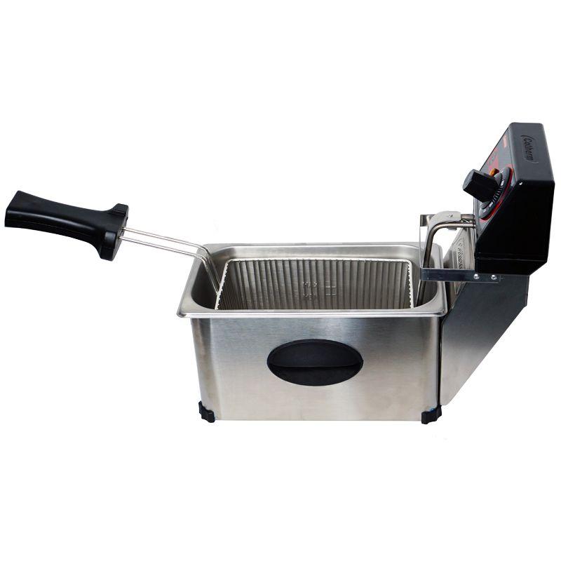 Fritadeira Elétrica com Óleo 3 Litros Industrial Profissional 110V 127V Cotherm 2243 2500W Inox