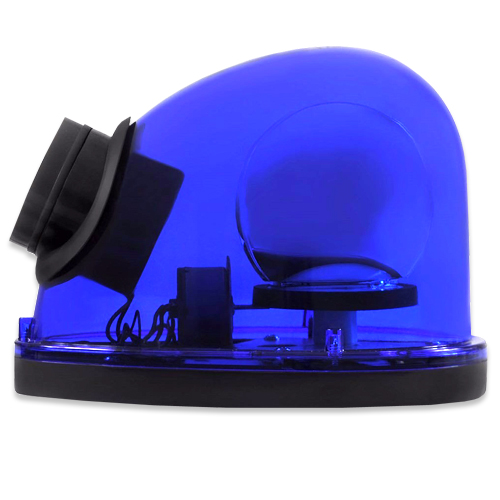 Giroflex Sinalizador Luz Emergência 12V Com Sirene Tech One T1GFCSAZ Azul  - BEST SALE SHOP