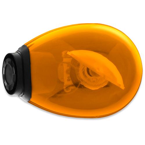 Giroflex Sinalizador Luz Emergência 12V Com Sirene Tech One T1GFCSLA Laranja