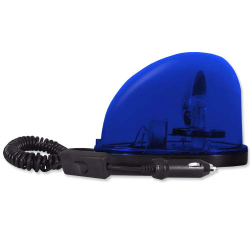 Giroflex Sinalizador Luz Emergência 12V Sem Sirene Tech One T1GFSSAZ Azul  - BEST SALE SHOP
