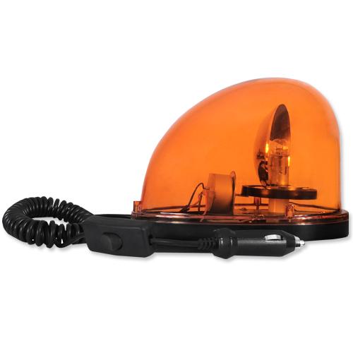 Giroflex Sinalizador Luz Emergência 12V Sem Sirene Tech One T1GFSSLA Laranja