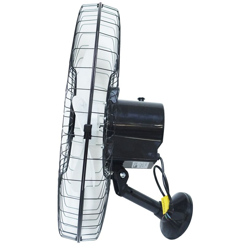 Kit 4 Ventiladores Parede 60cm 110V 127V 200W Industrial Turbo Turbão 3 Pás GA Vitalex Preto