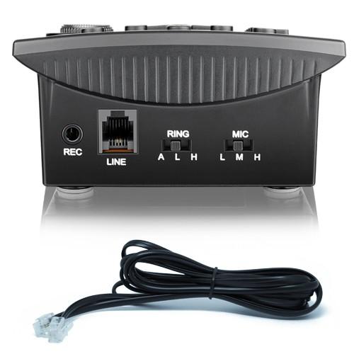 Kit 5 Telefones Headset com Base Discadora Teclado e Identificador de Chamadas Elgin HST 8000 Preto  - BEST SALE SHOP