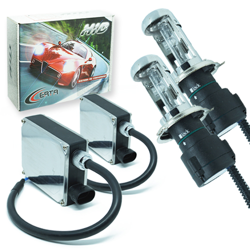 Kit Bi Xenon Caminhão 24V 35W Certa H4-3 6000K  - BEST SALE SHOP