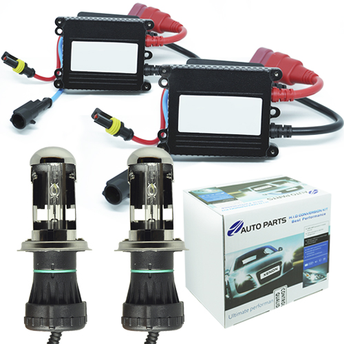 Kit Bi Xenon Carro 12V 35W Jl Auto Parts H4-3 10000K  - BEST SALE SHOP