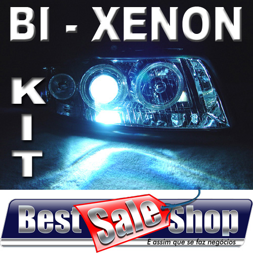 Kit Bi Xenon Carro 12V 35W Tay Tech H4-3 8000K  - BEST SALE SHOP