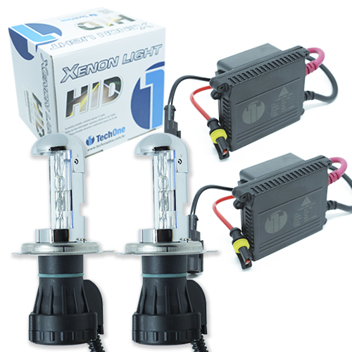 Kit Bi Xenon Carro 12V 35W Tech One H4-3 8000K  - BEST SALE SHOP