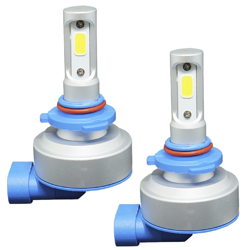 Kit Par Lâmpada Super Led Automotiva Plug Original Farol Carro HB4 9006 9000Lm 12/24V Guzz 6000K  - BEST SALE SHOP