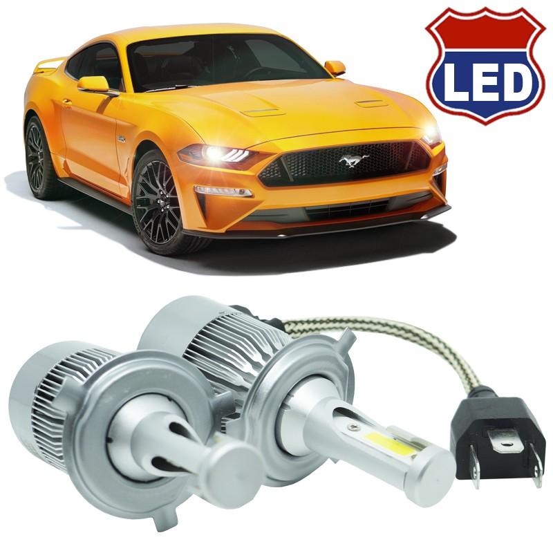 Kit Par Lâmpada Super Led Automotiva Farol Carro 10000 Lumens 12/24V 6000K  - BEST SALE SHOP