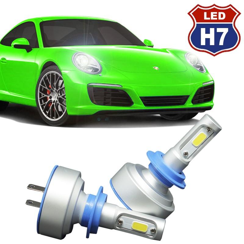 Kit Par Lâmpada Super Led Automotiva Plug Original Farol Carro H7 9000Lm 12/24V 6000K  - BEST SALE SHOP