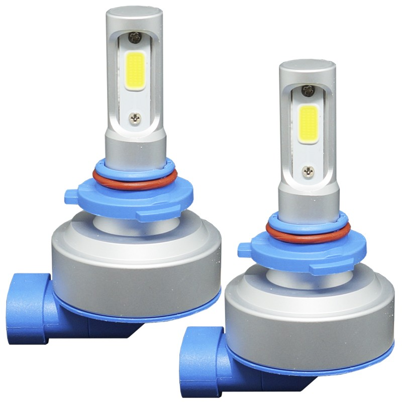 Kit Par Lâmpada Super Led Automotiva Plug Original Farol Carro HB3 9005 9000Lm 12/24V 6000K