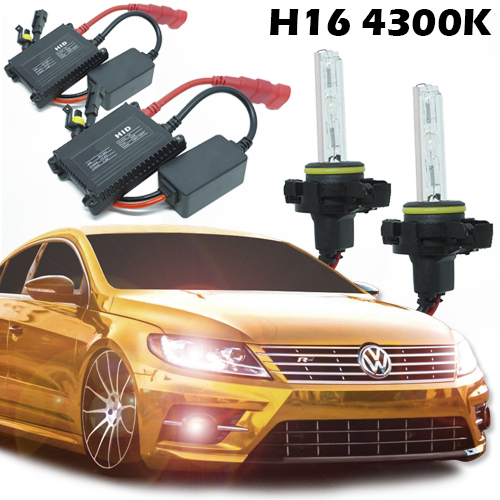 Kit Xenon Carro 12V 35W H16 4300K