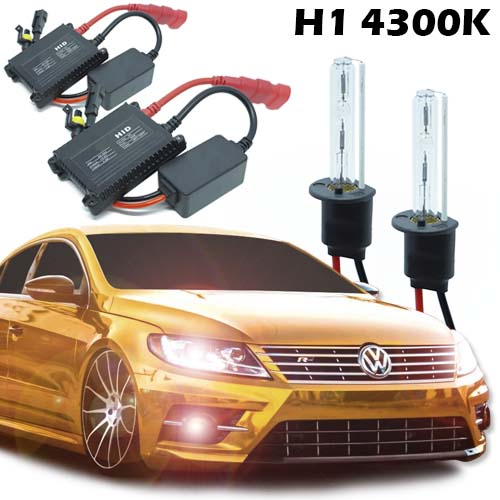 Kit Xenon Carro 12V 35W H1 4300K