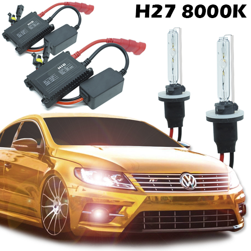 Kit Xenon Carro 12V 35W H27 8000K