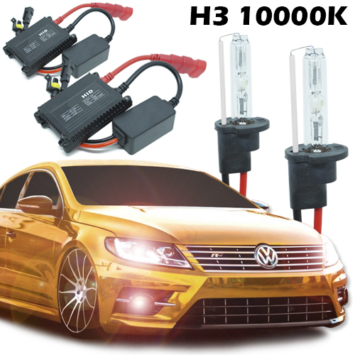 Kit Xenon Carro 12V 35W H3 10000K