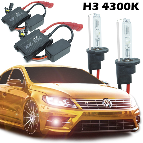 Kit Xenon Carro 12V 35W H3 4300K  - BEST SALE SHOP