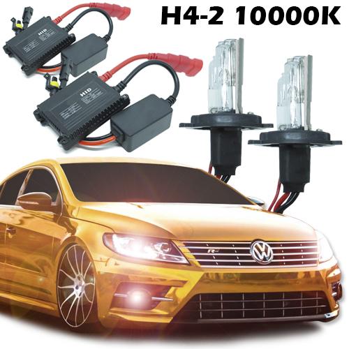 Kit Xenon Carro 12V 35W H4-2 10000K