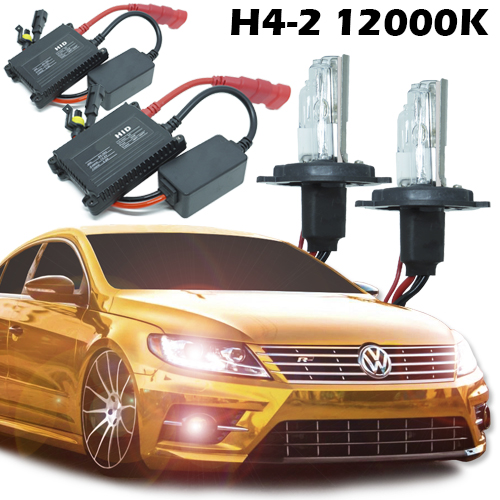Kit Xenon Carro 12V 35W H4-2 12000K - BEST SALE SHOP