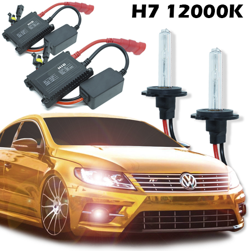 Kit Xenon Carro 12V 35W H7 12000K
