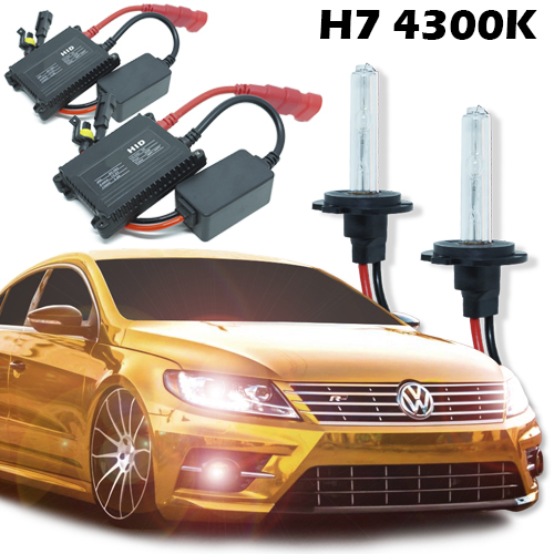 Kit Xenon Carro 12V 35W H7 4300K  - BEST SALE SHOP