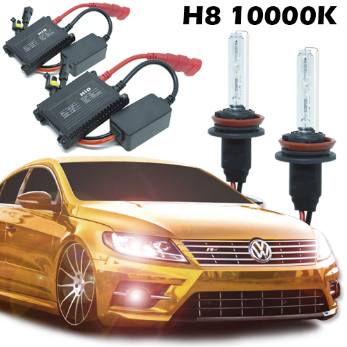 Kit Xenon Carro 12V 35W H8 10000K