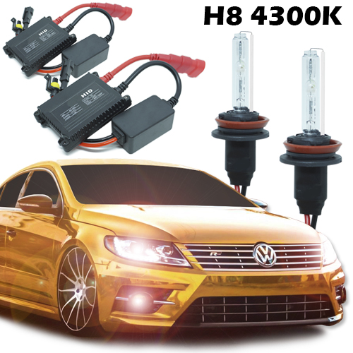 Kit Xenon Carro 12V 35W H8 4300K