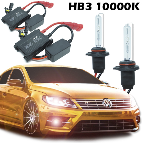 Kit Xenon Carro 12V 35W Hb3-9005 10000K