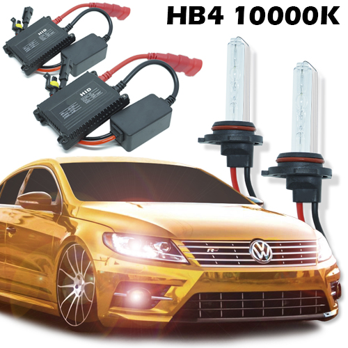 Kit Xenon Carro 12V 35W Hb4-9006 10000K