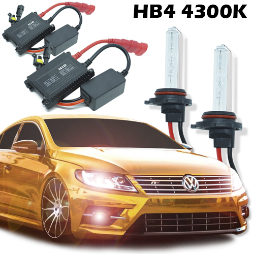 Kit Xenon Carro 12V 35W Hb4-9006 4300K