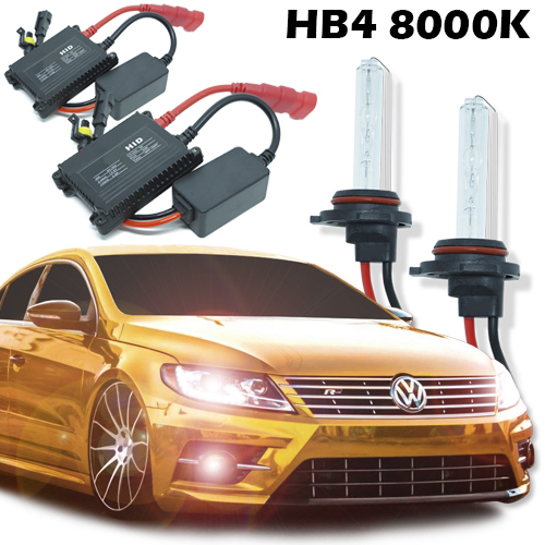 Kit Xenon Carro 12V 35W Hb4-9006 8000K