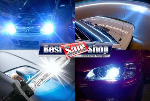 Kit Xenon Carro 12V 35W Importado H27 6000K  - BEST SALE SHOP