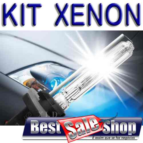 Kit Xenon Carro 12V 35W Importway H3 8000K - BEST SALE SHOP