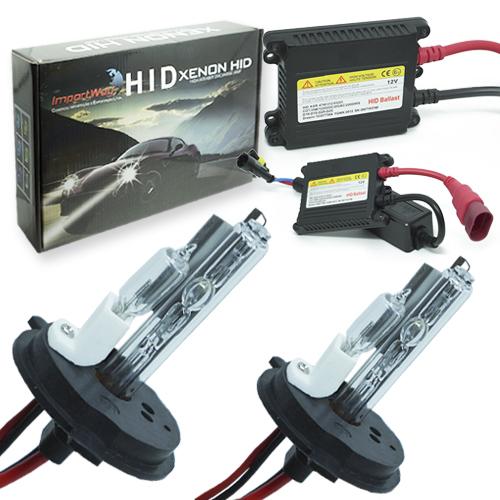 Kit Xenon Carro 12V 35W Importway H4-2 4300K  - BEST SALE SHOP