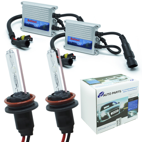 Kit Xenon Carro 12V 35W Jl Auto Parts H11 10000K - BEST SALE SHOP