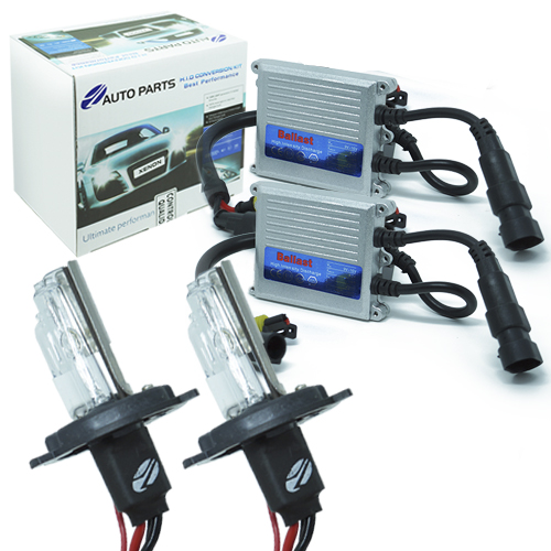 Kit Xenon Carro 12V 35W Jl Auto Parts H4-2 10000K  - BEST SALE SHOP