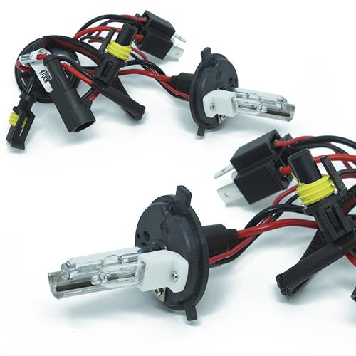 Kit Xenon Carro 12V 35W Jl Auto Parts H4-2 8000K  - BEST SALE SHOP
