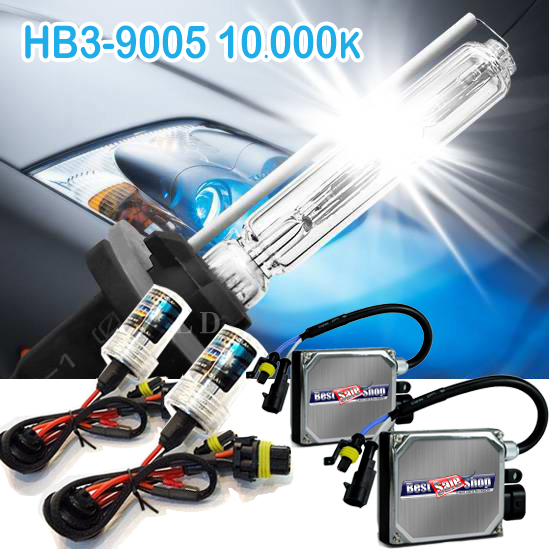 Kit Xenon Carro 12V 35W Rayx Hb3-9005 10000K  - BEST SALE SHOP