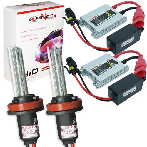 Kit Xenon Carro 12V 35W Seven Parts H11 6000K  - BEST SALE SHOP