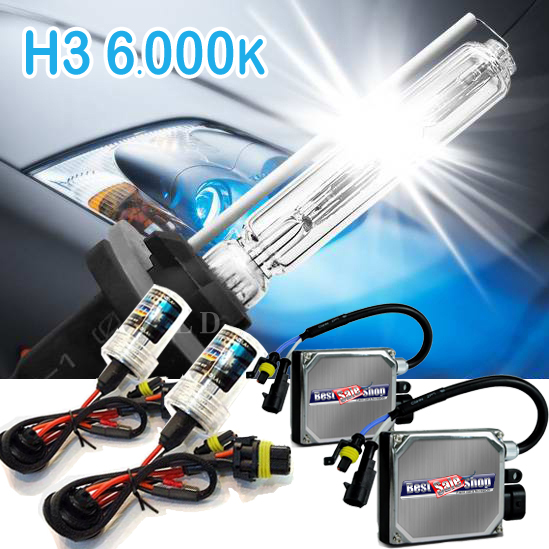 Kit Xenon Carro 12V 35W Tech One H3 6000K  - BEST SALE SHOP