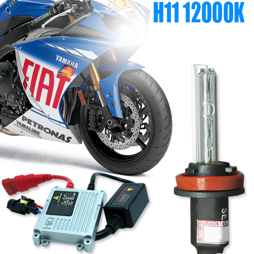 Kit Xenon Moto 12V 35W H11 12000K  - BEST SALE SHOP