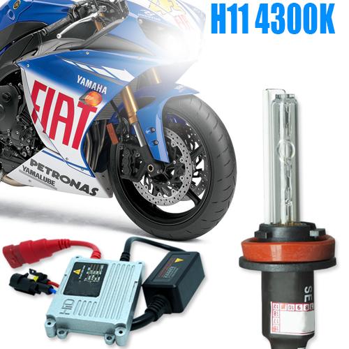 Kit Xenon Moto 12V 35W H11 4300K